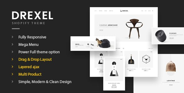Fastest Shopify Themes from ThemeForest