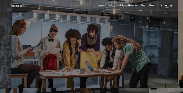 Bezel - Creative Multi-Purpose Drupal 8.9 Theme