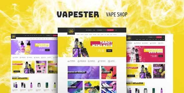 Vapester Theme Preview