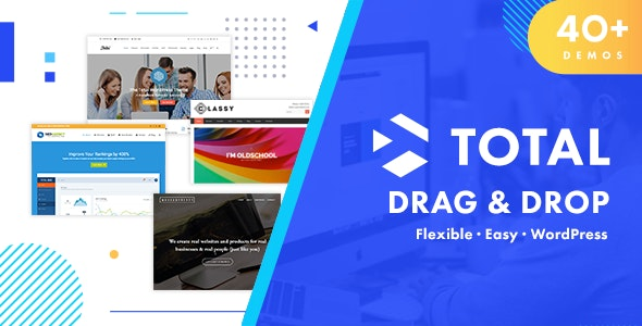 Total - Responsive Multi-Purpose WordPress Theme - Business Corporate