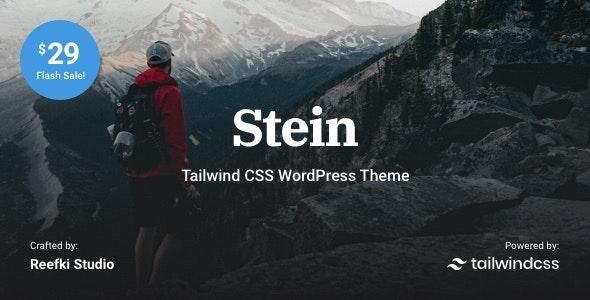 Stein ~ Modern Blog & Magazine WordPress Theme