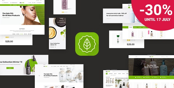 Kaline - Multipurpose Responsive Shopify Theme - Health & Beauty Shopify