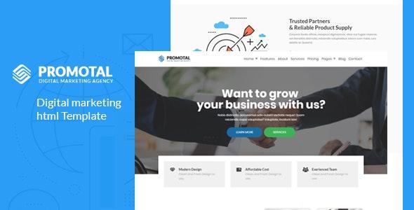Promotal - Digital Marketing Agency - Technology Site Templates