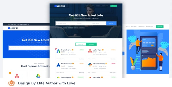 Workio - Job Board HTML Template - Corporate Site Templates