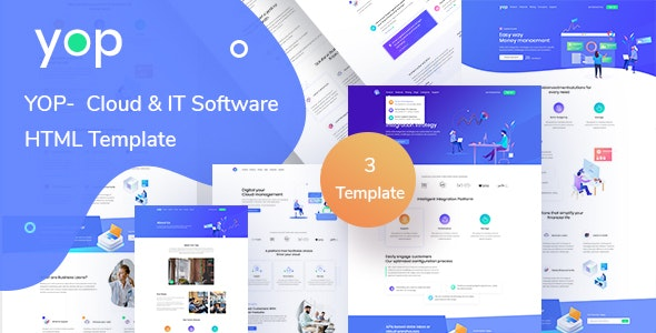 YOP - Cloud HTML Template - Business Corporate