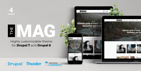 TheMAG - Highly Customizable Blog and Magazine Theme for