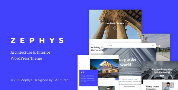 Zephys - Architecture & Interior WordPress Theme - Creative WordPress