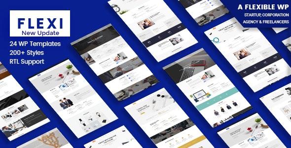 Flexible WordPress Theme | Flexi - Business Corporate
