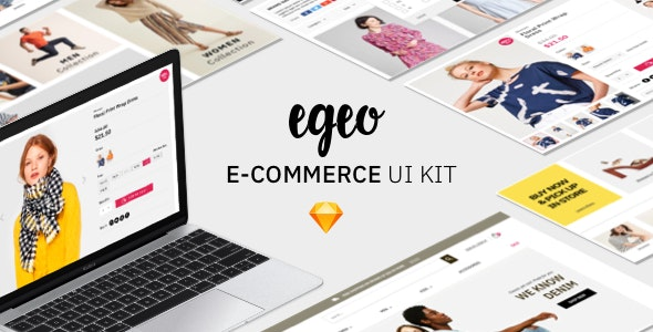 EGEO E-Commerce UI Kit by erolbek | ThemeForest