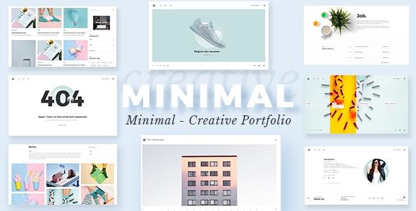 Portfolio WordPress - Minimalist - Portfolio Creative