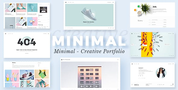 Portfolio WordPress - Minimalist