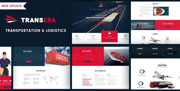 Logistics Transportation WordPress   Transera - Business Corporate