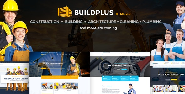 Construction Template | BuildPlus - Business Corporate