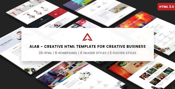 Alab - Creative Agency Template
