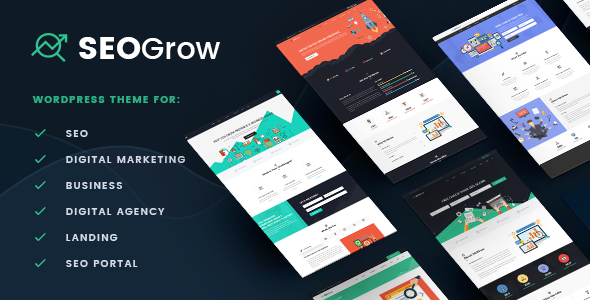 Marketing & Growth Hacking WP   SEO Grow - Marketing Corporate