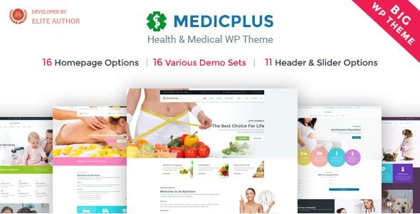 Medical & Health WordPress | MedicPlus - Health & Beauty Retail