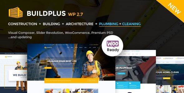 Construction WordPress | BuildPlus - Business Corporate