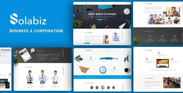 Consult Startup WordPress | Solabiz - Business Corporate