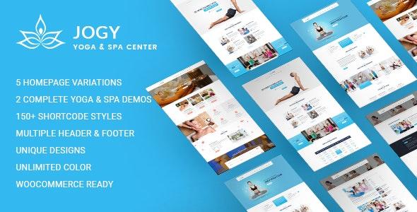 Yoga & Spa WordPress | Jogy - Health & Beauty Retail