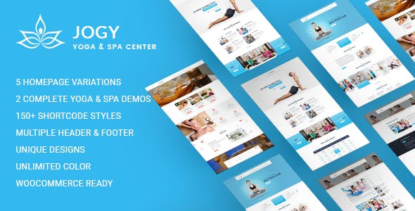 Yoga & Spa WordPress | Jogy