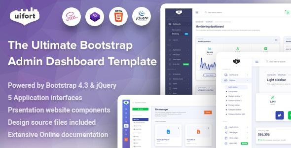Bamburgh - Bootstrap Admin Dashboard Template - Admin Templates Site Templates
