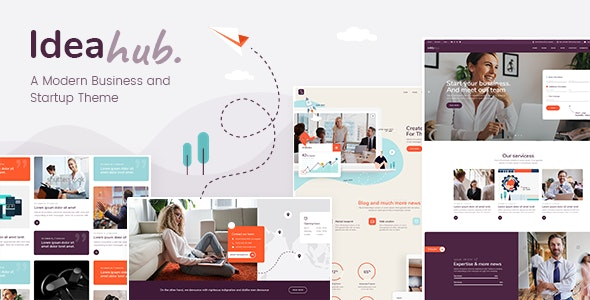 Ideahub - Modern Business and Startup Theme - Business Corporate