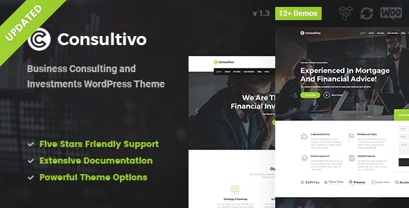 Consultivo - Business Consulting WordPress Theme