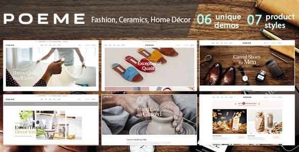 Bos Poeme - Dynamic Multipurpose E-Commerce Prestashop 1.7 Theme nulled theme download
