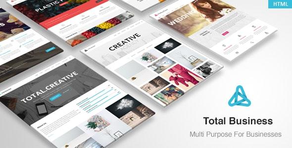 Total - MultiPurpose Business HTML Template - Corporate Site Templates