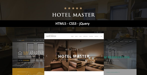 Hotel Master | HTML Template by max-themes | ThemeForest