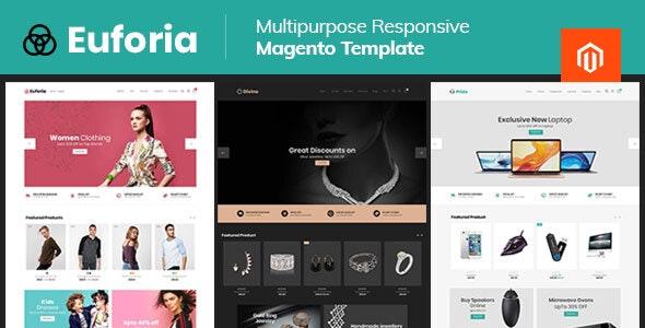Euforia Black - Multipurpose Magento 2 Theme - Fashion Magento