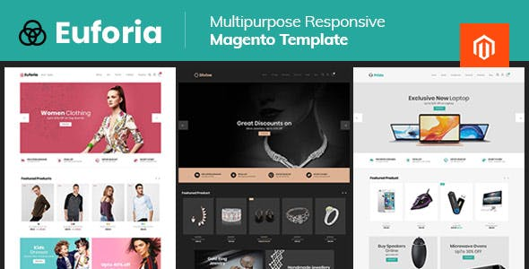 Euforia Black - Multipurpose Magento 2 Theme nulled theme download