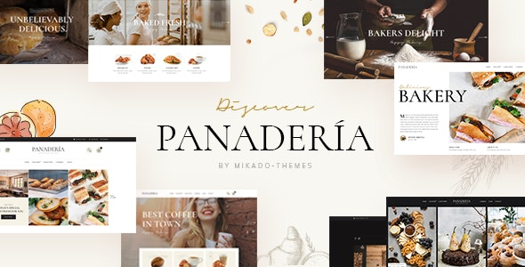 Panadería - Bakery and Pastry Shop Theme - Restaurants & Cafes Entertainment