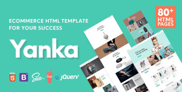 Yanka - Retail Ecommerce HTML Template - Fashion Retail