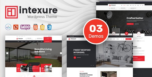 Intexure - Architecture and Interior Design WordPress Theme - Business Corporate