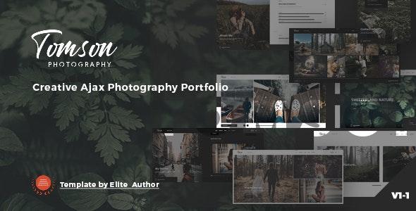 Tomson - Creative Ajax Showcase Photography Portfolio - Photography Creative