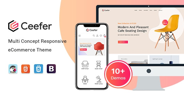 Ceefer - Creative Prestashop Theme - PrestaShop eCommerce