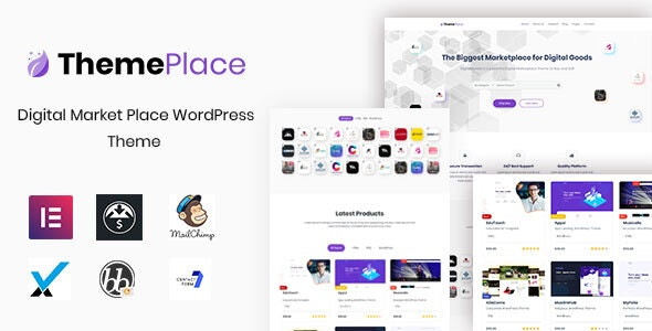 ThemePlace - Marketplace WordPress Theme - eCommerce WordPress