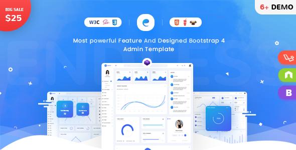 Endless - Bootstrap 4 Admin Template - Admin Templates Site Templates