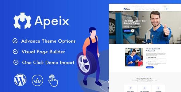 Apeix Theme Preview