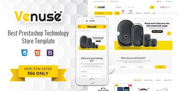 Venuse - Premium Responsive PrestaShop 1.7 Digital Theme nulled theme download