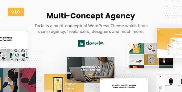 Torfa — Multi-Concept Agency Theme - Business Corporate