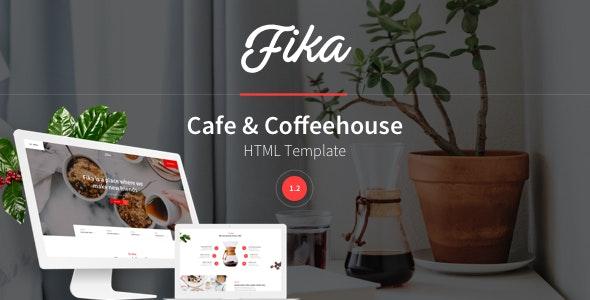 Fika - Cafe & Coffeehouse HTML Template by Waveless_Team