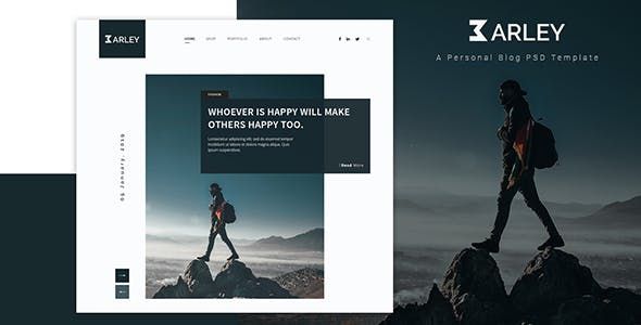 Barley - Creative Personal WordPress Blog Theme nulled theme download