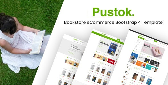 Book Store HTML Template - Pustok - Shopping Retail