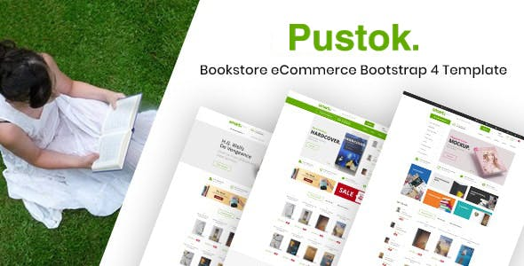 Book Store HTML Template - Pustok