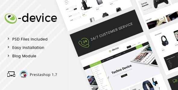 eDevice - Multipurpose Prestashop 1.7 Responsive Theme - Technology PrestaShop