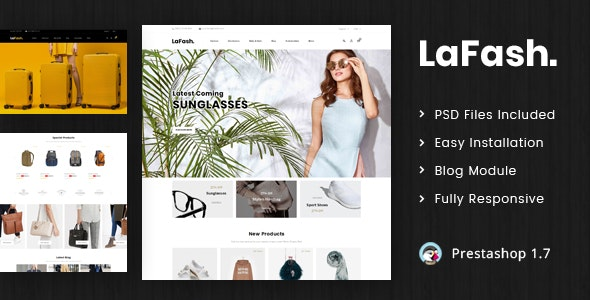LaFash - Multipurpose Prestashop 1.7 Responsive Theme - Shopping PrestaShop