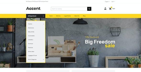 Accent - MultiPurpose Prestashop 1.7 Responsive Theme