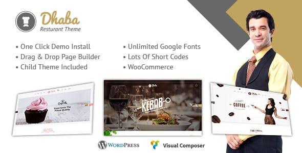 Dhaba - Restaurant and Cafe WordPress Theme